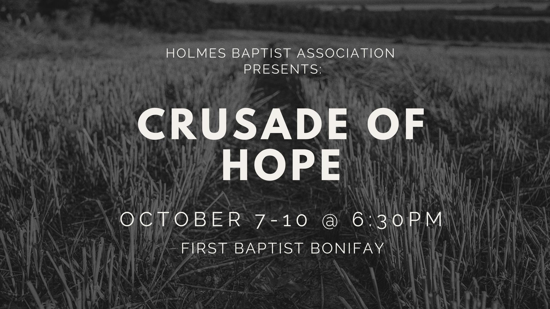 Crusade Invite