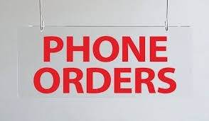 Order By Phone! -