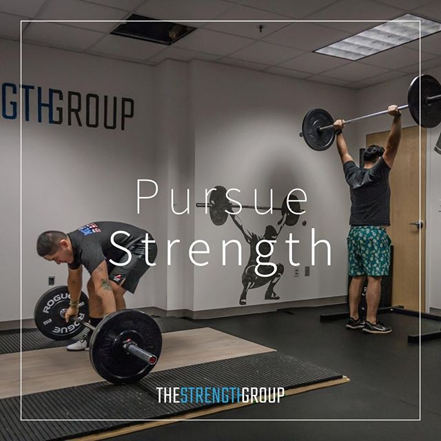 """So, the goal is to be strong for you. A stronger you is better at all the things that might come your way."" https://barbell-logic.com/philosophy-of-strength/"