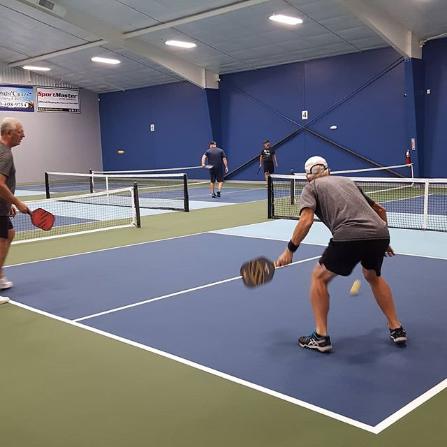 Party and Pickleball!  How great!