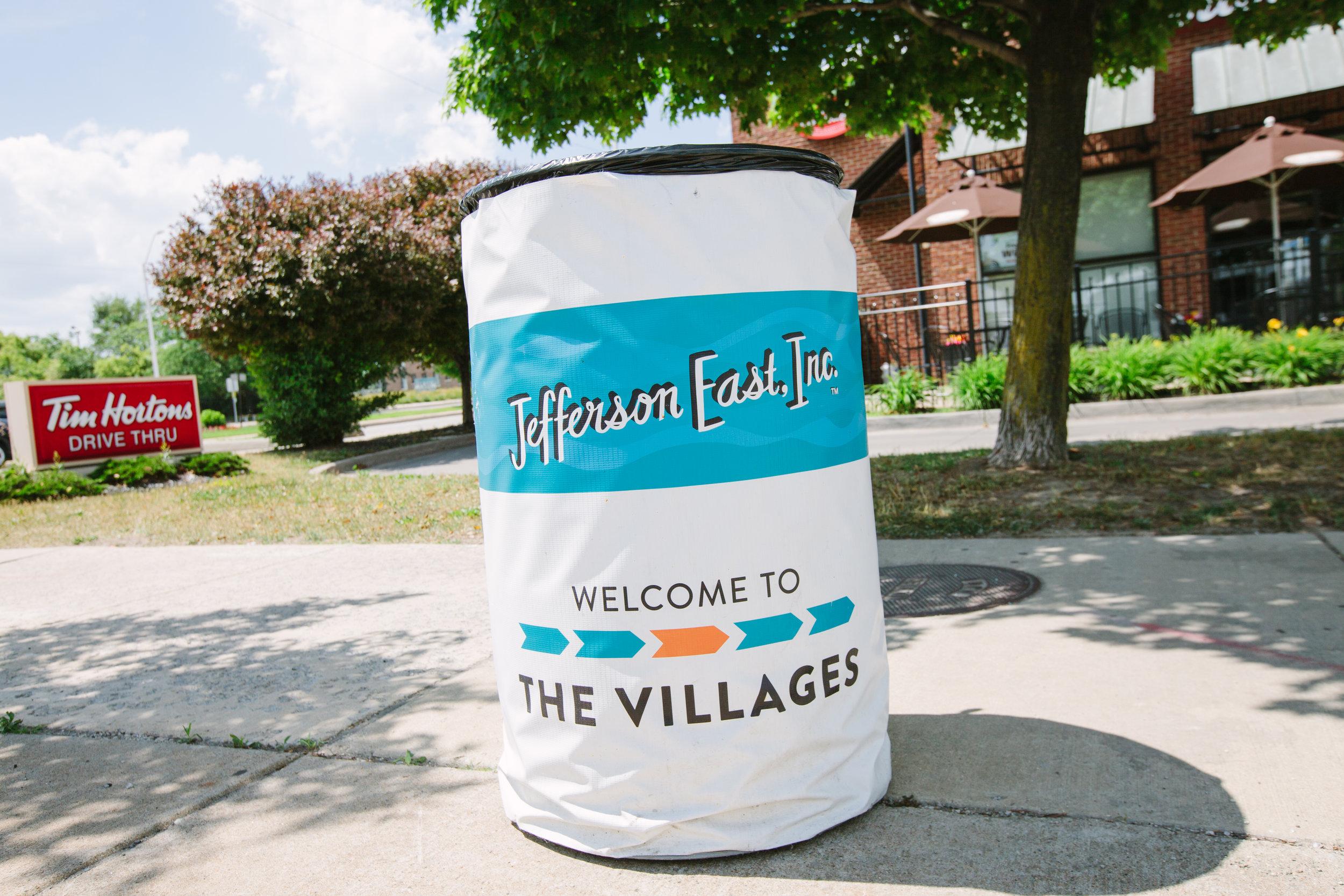 Villages Trash Can TIm Hortons.jpg