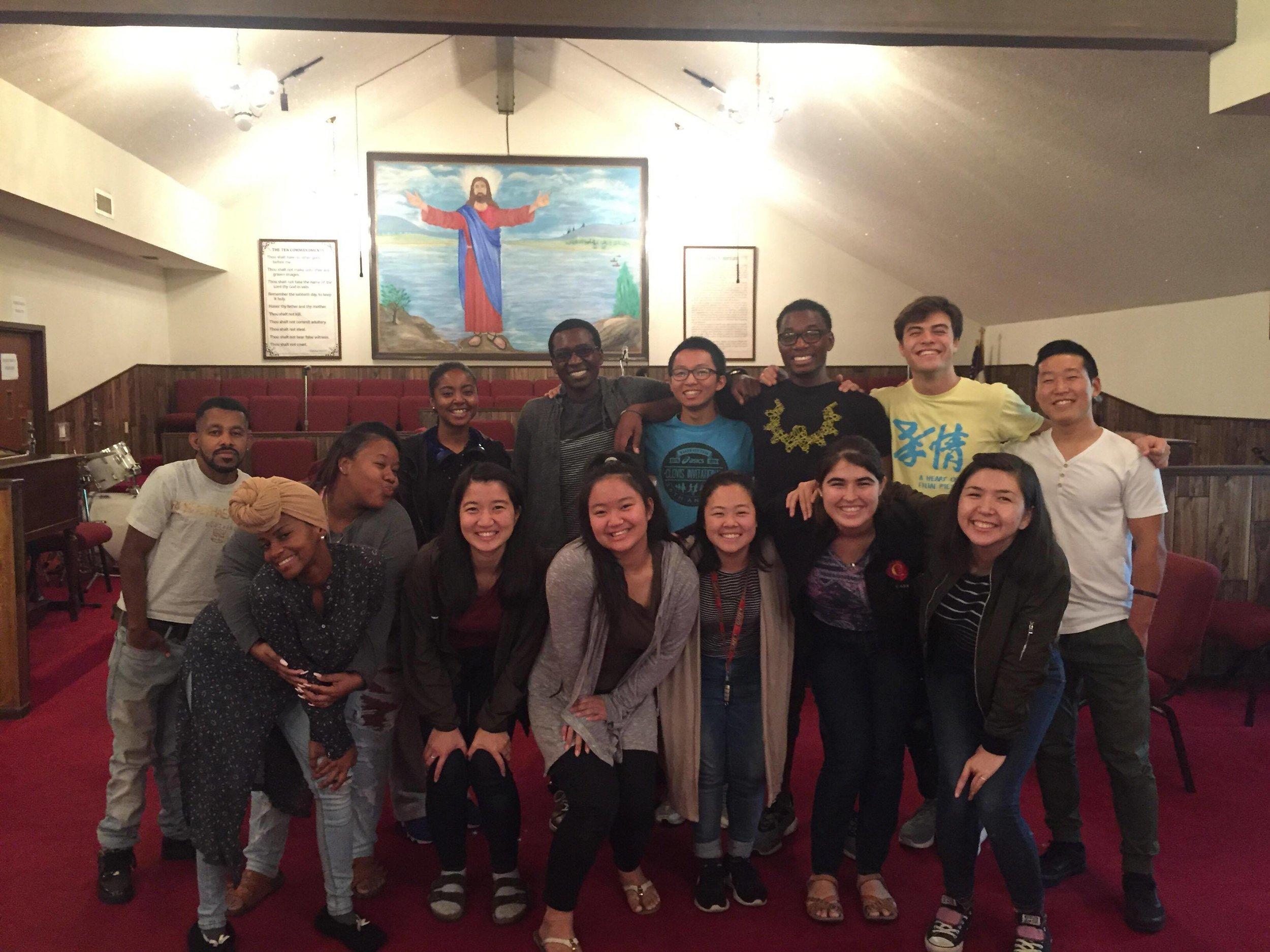 CARP LA visits Rock of Faith Church for Bible Study!
