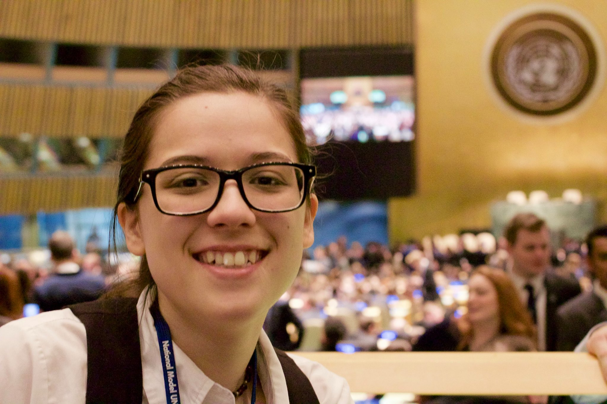 At the United Nations General Assembly