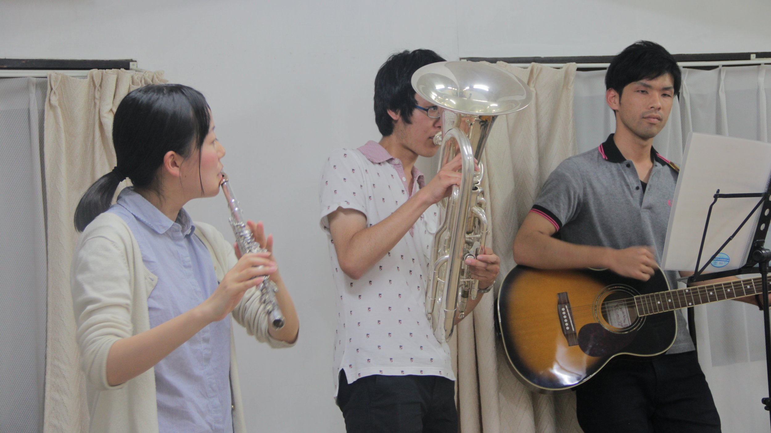 The CARP students in Kyoto are very talented and musical!