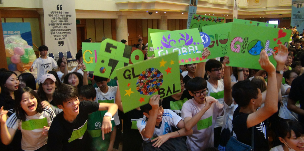 We are a global family!!