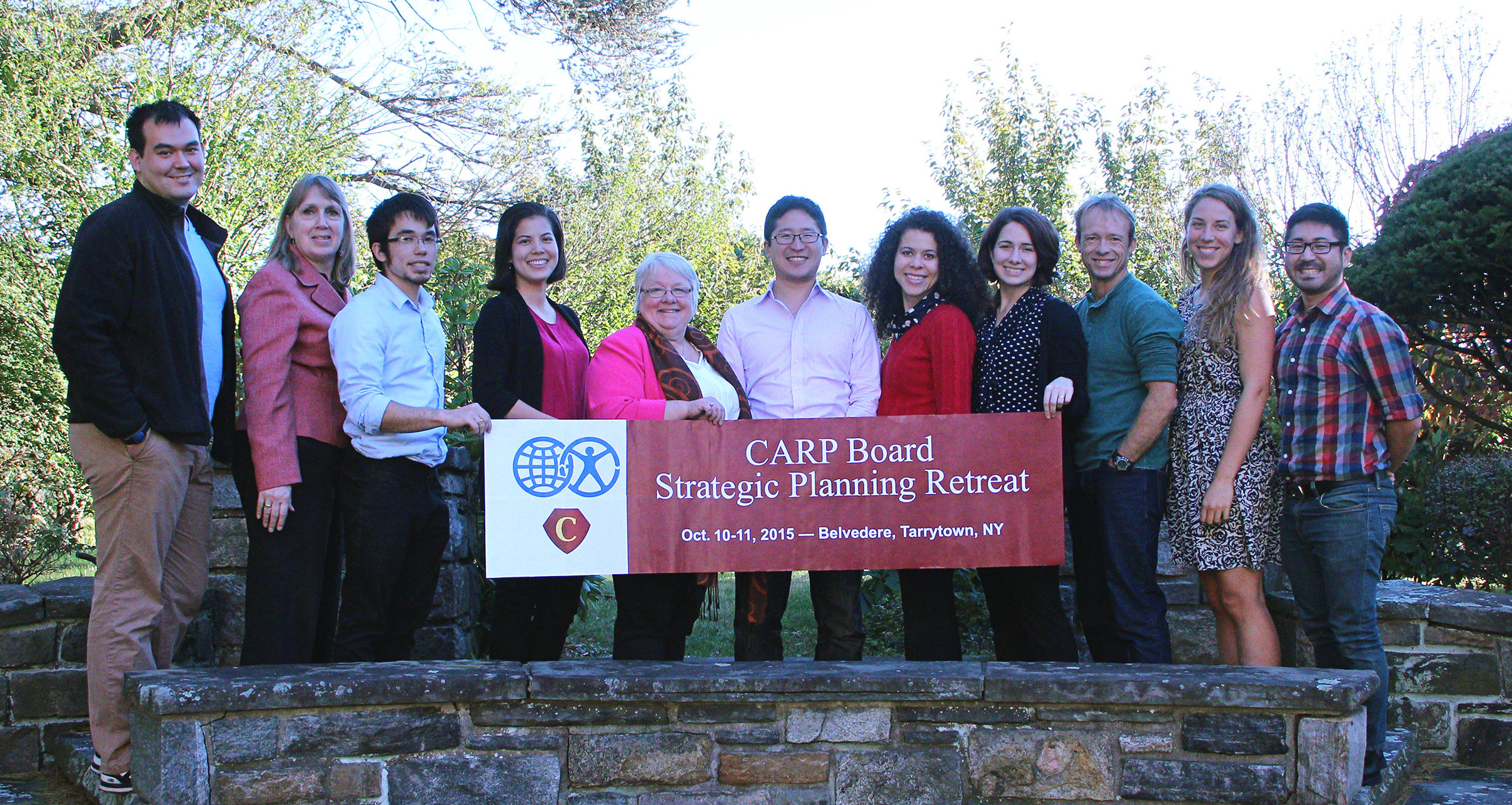 The CARP Board and Staff pose at their October 2015 Strategic Planning Retreat.