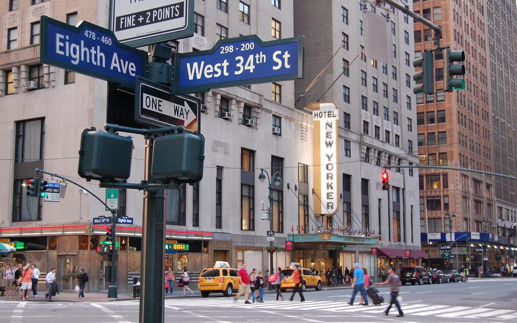 CARP Headquarters on 8th Avenue and 34th Street, Manhattan.