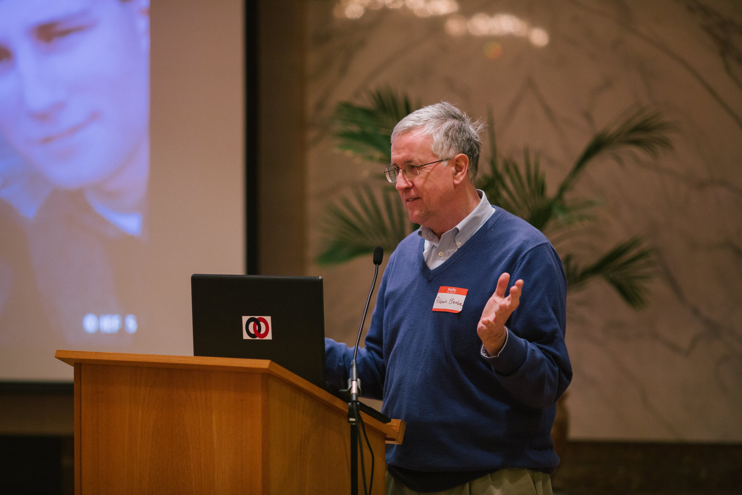"""Dr. Robert Beebe gave a presentation on """"Education and the Culture."""""""