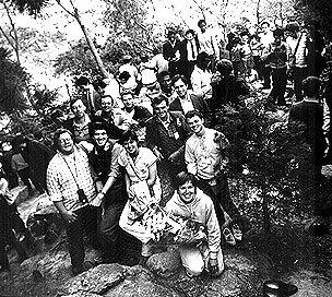 Rock of Tears, S. Korea CARP delegation to World CARP, Nov. 1984