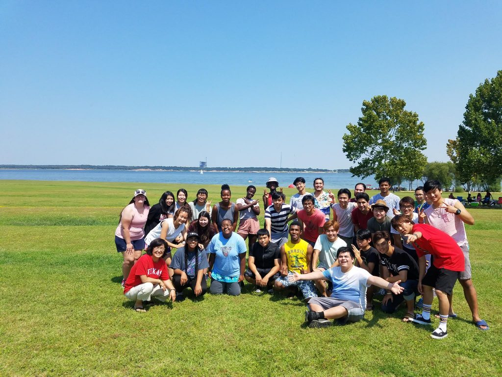 CARP North Lake's kick-off BBQ event before school started!
