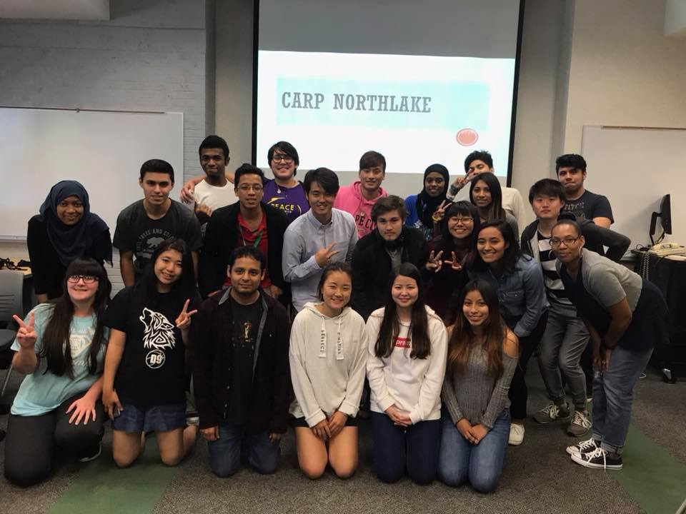CARP North Lake's first general meeting!