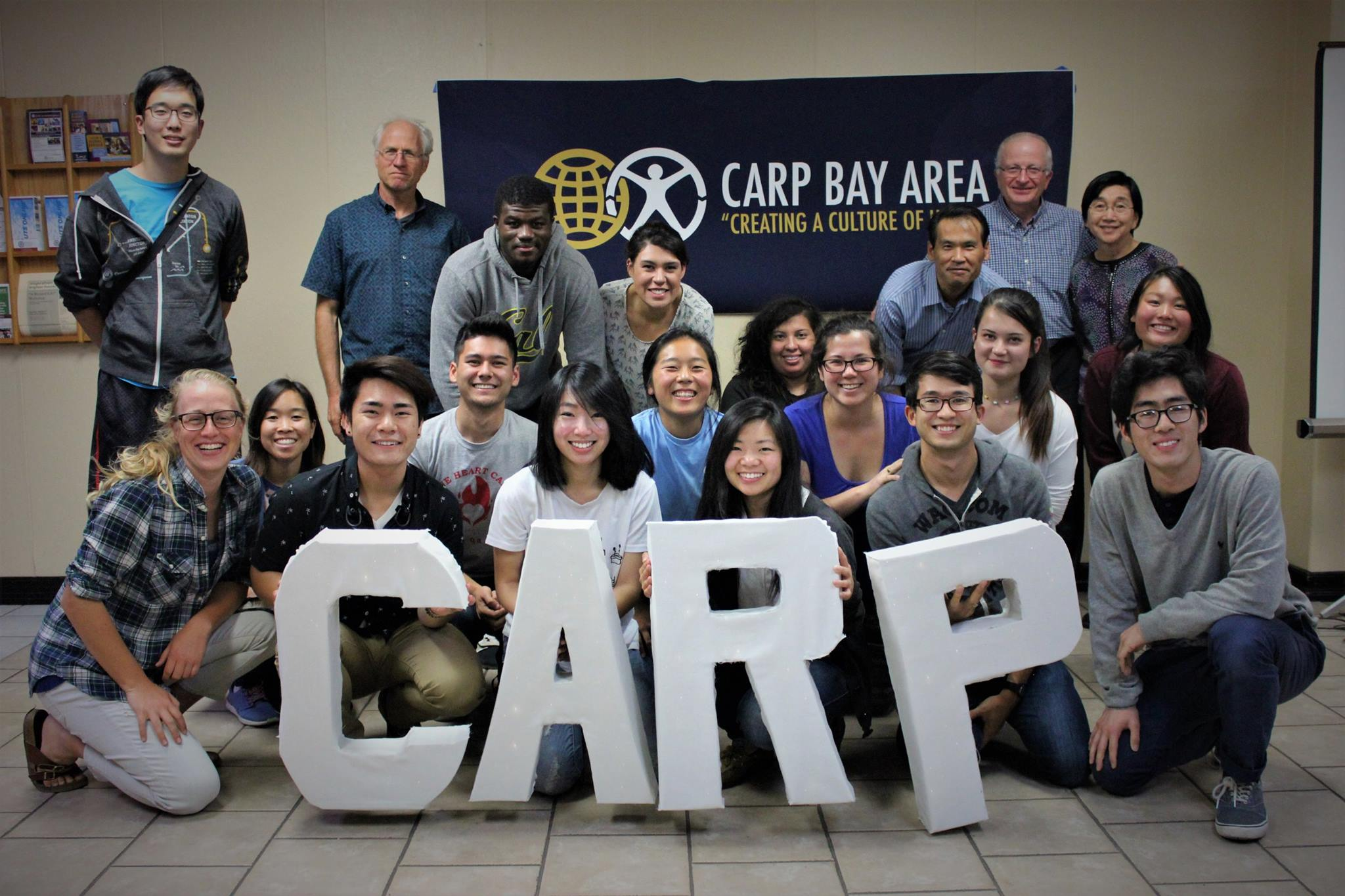 Bay Area CARP at their Ignite program with their community.