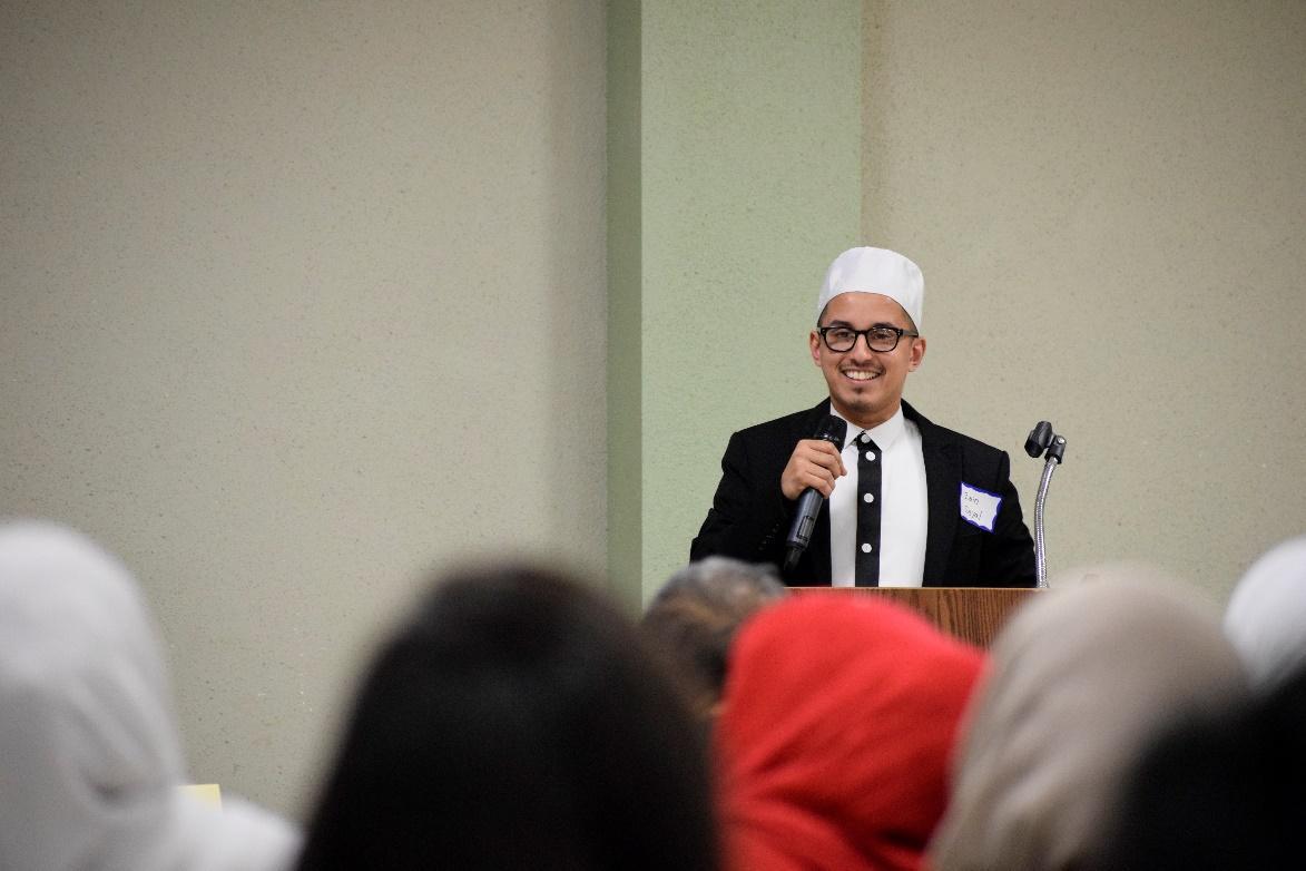 Mr. Zain Seyal represented the Muslim perspective.