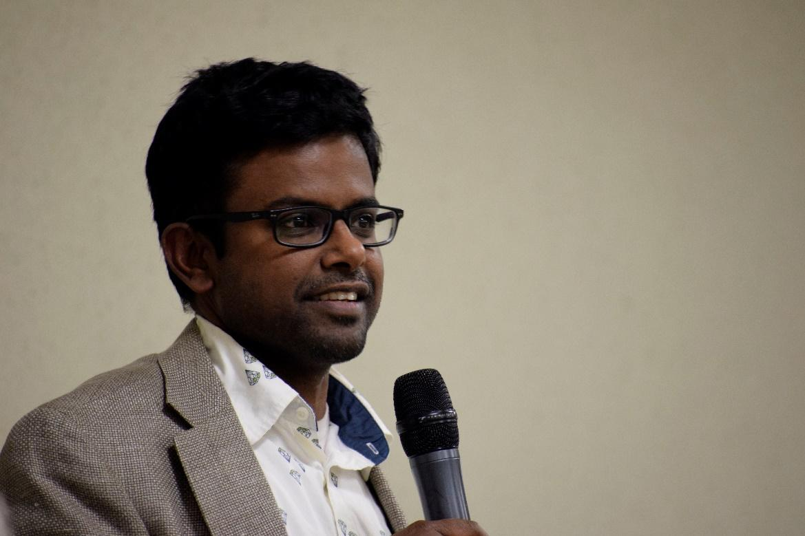 Mr. Thiru Raman came with the Hindu perspective.