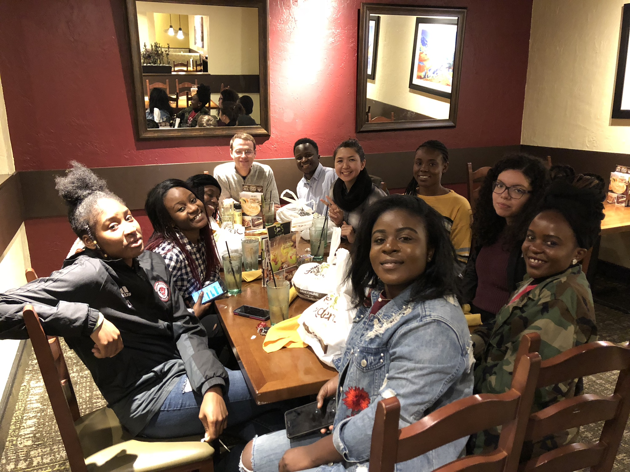 Dinner with the GRCC crew!