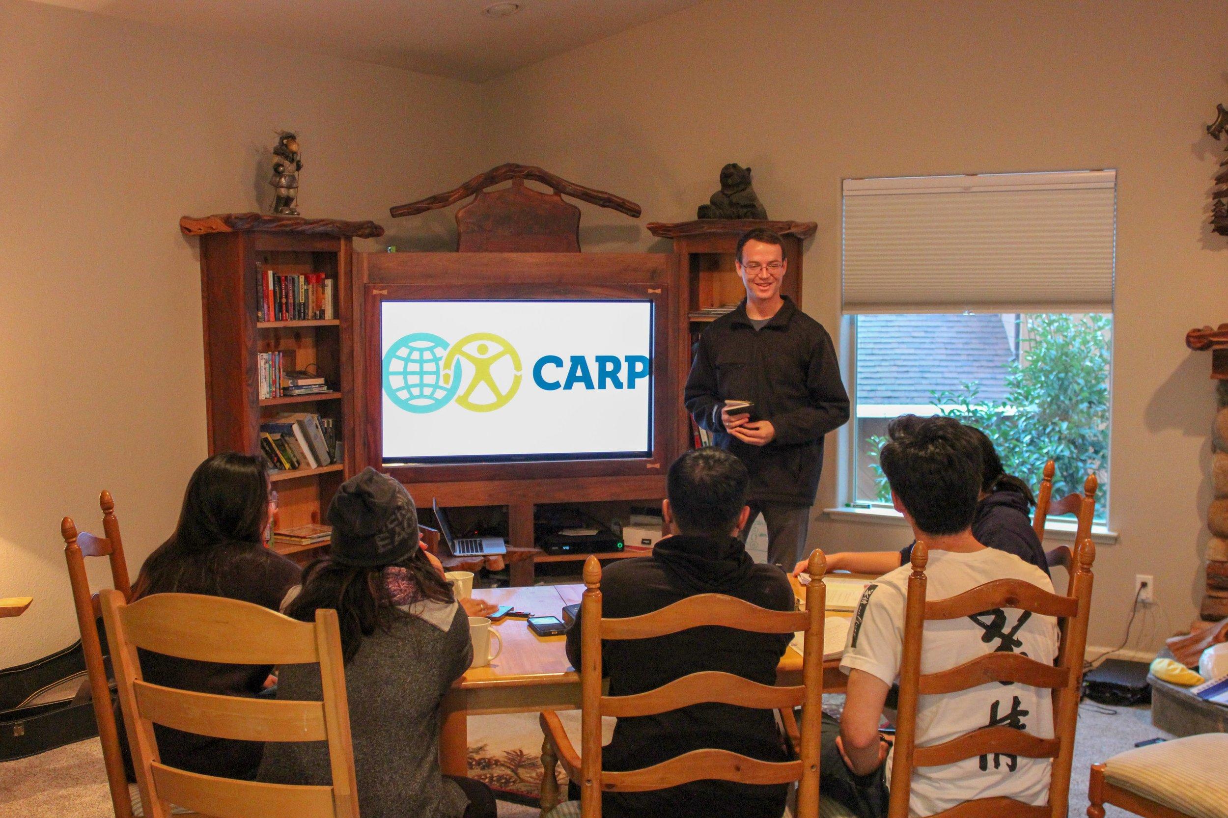 Jinil Fleischman talks about National CARP.