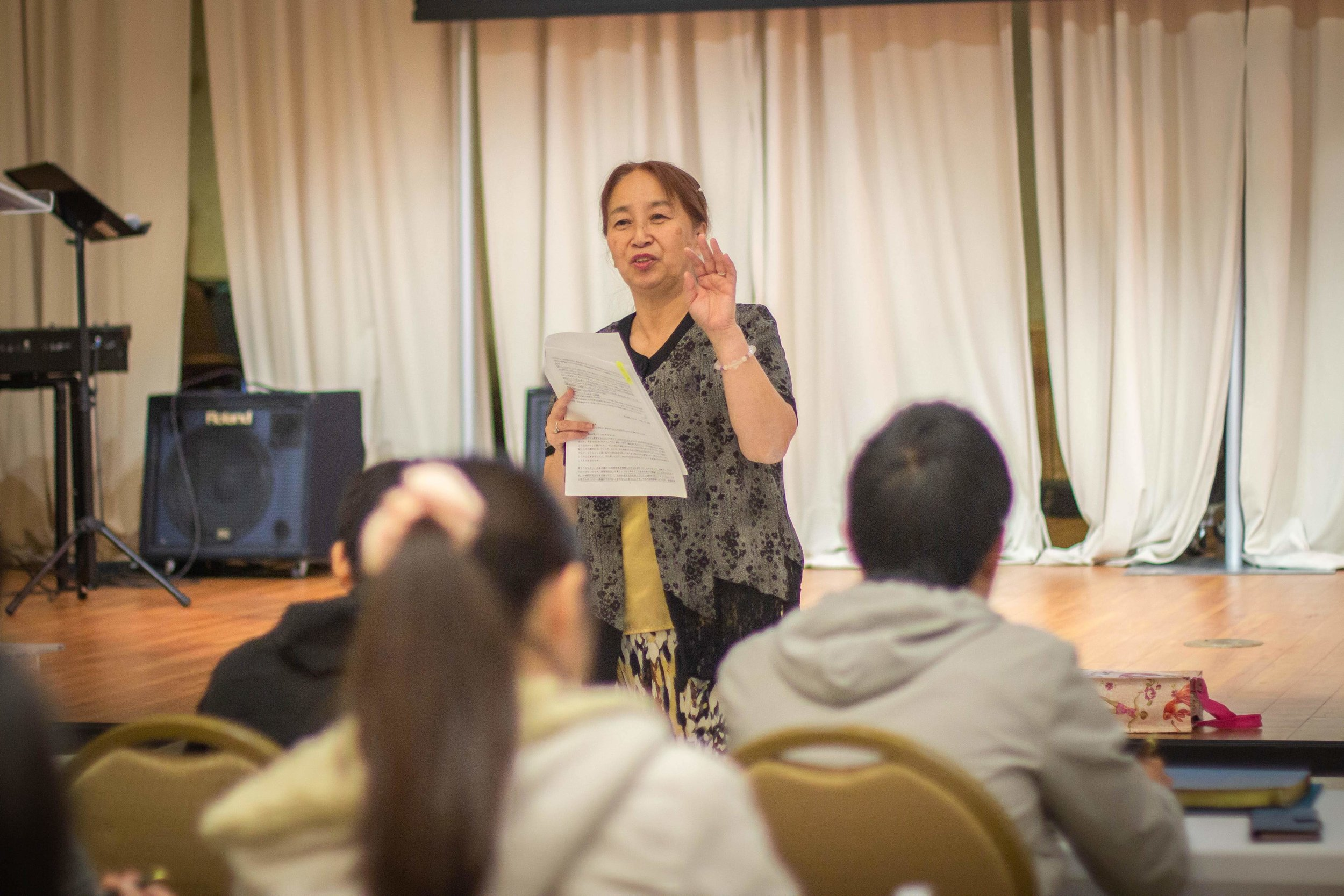 Naoko Hiraki shares her life testimony and turning point.