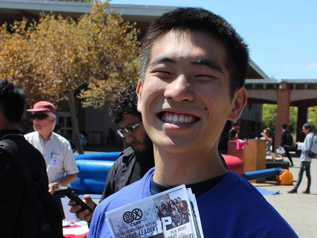 """Samuel Tamura - University of Davis, California, CA""""The vision for my chapter is to create a space for anyone to feel like this is a club that will really make a change in the world. I want everyone to see the Principle and the CARP culture and feel moved and inspired by it. I want to create a chapter that truly aims to bring a new perspective for all members and, regardless of if they stay or not, they can come out of CARP thinking that it made a positive change in their life. """""""