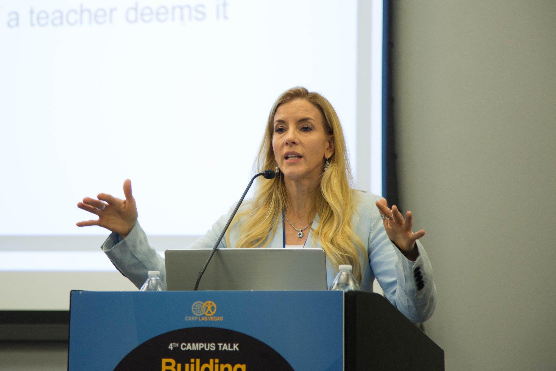 Deborah Earl introduced her non-profit, Power2Parent.