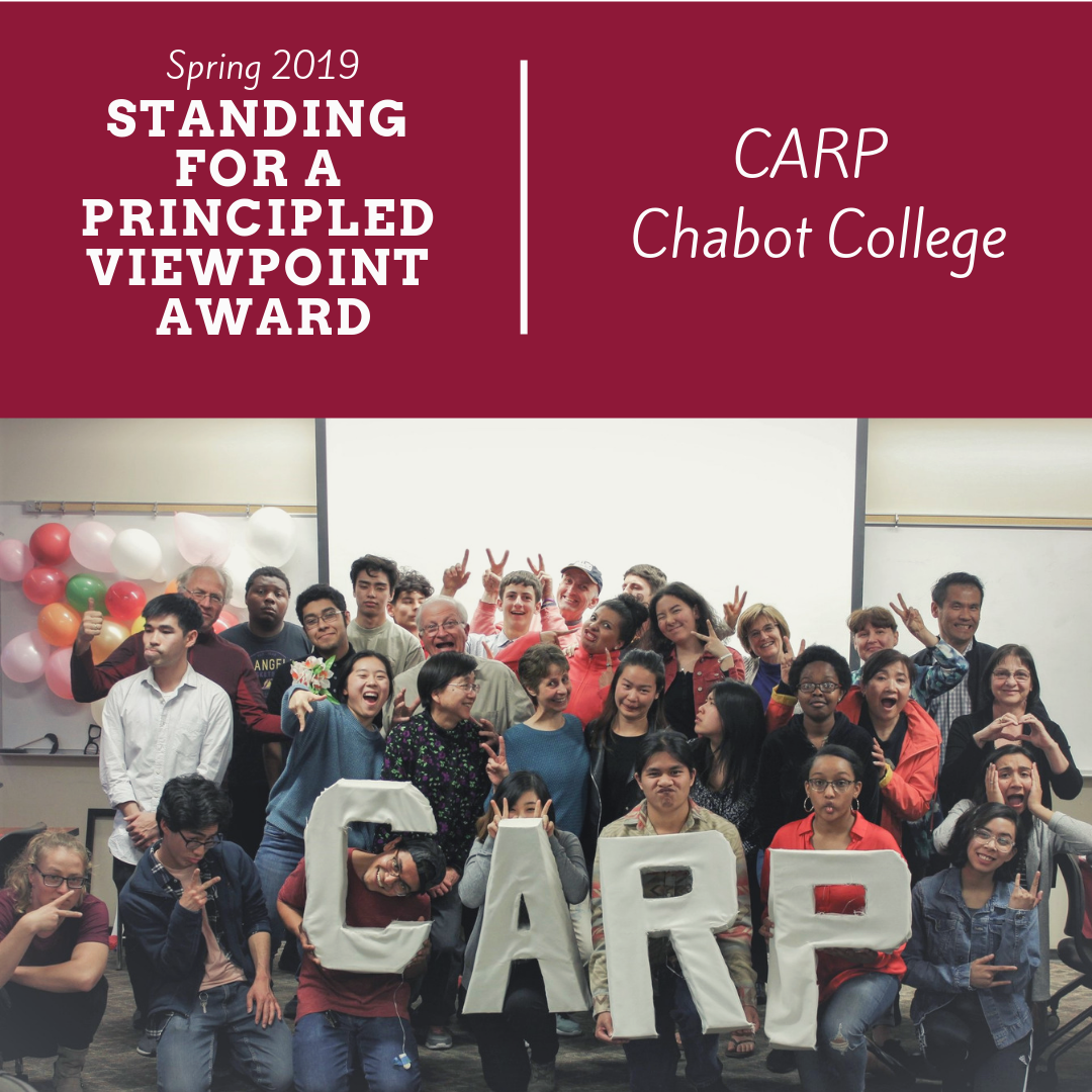 Spring 2019 Awards - Standing for a Principled Viewpoint.png