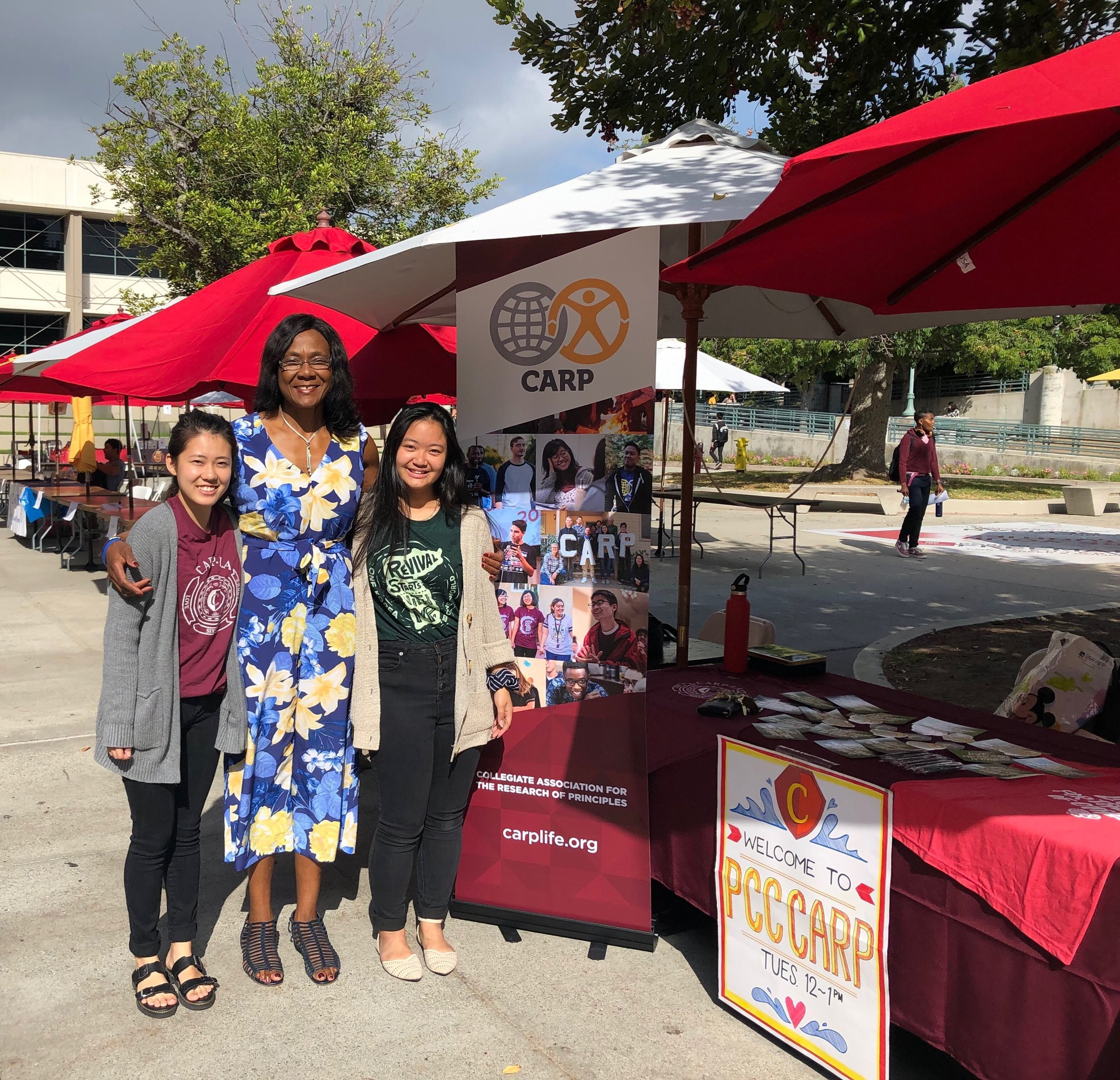 Pasadena City College (PCC), California with advisor, Grace Apiafi (center)   See more:    Facebook   ,    Instagram
