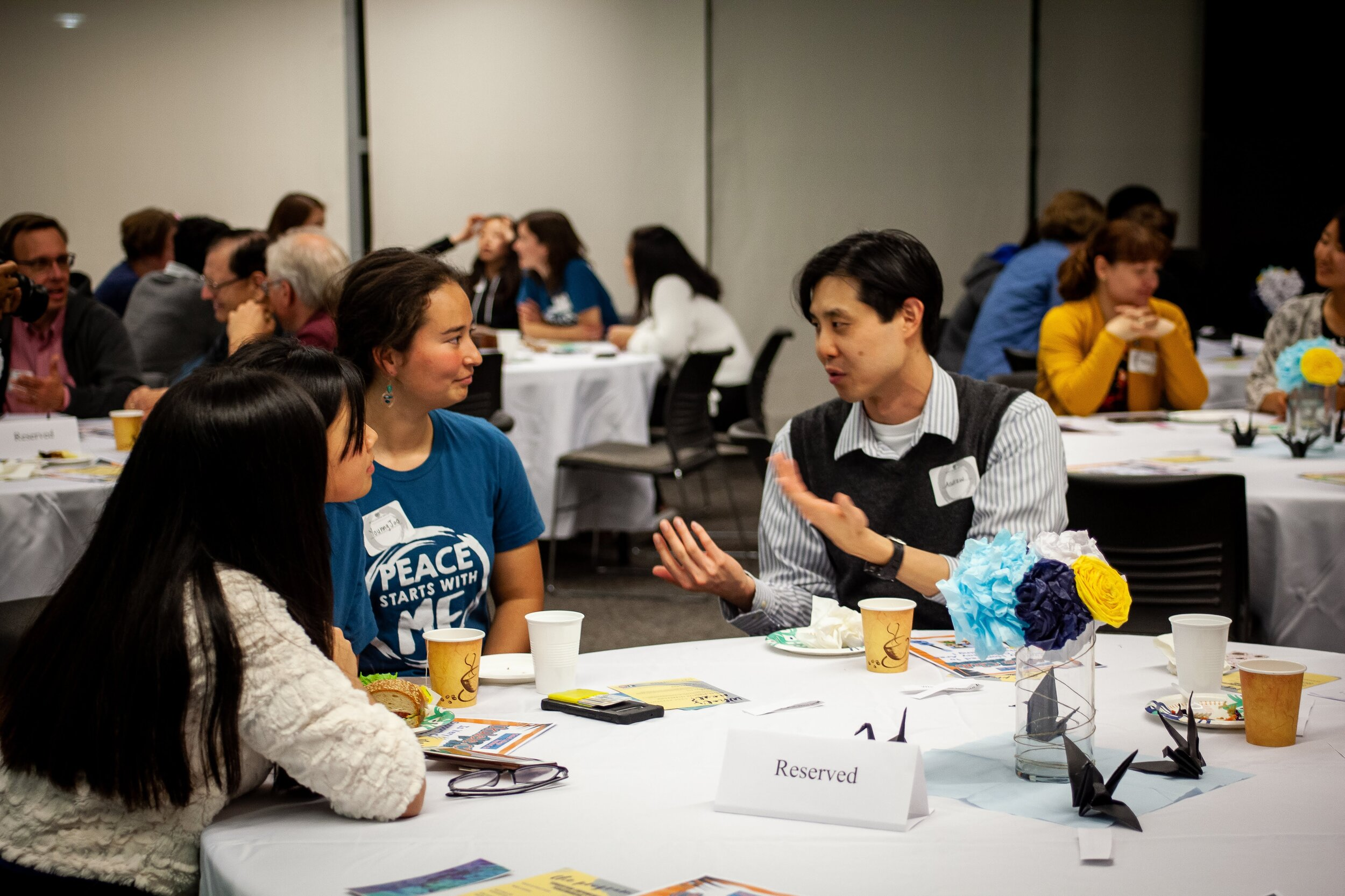 Carp Bay Area Campus Event Education Is For Creating Peacemakers Collegiate Association For The Research Of Principles