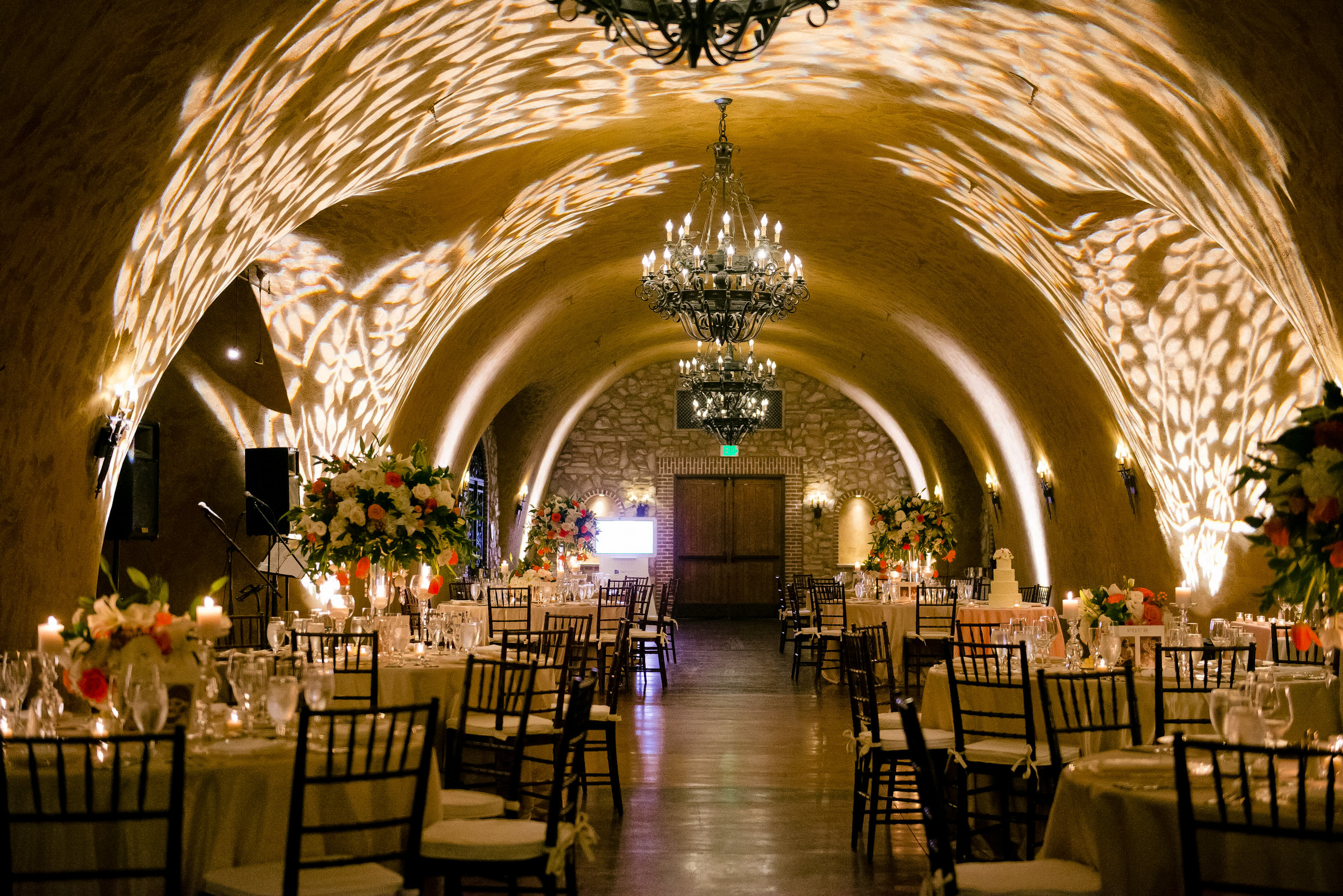 Uplighting with Gobo Patterns - Meritage Wine Cave.jpg
