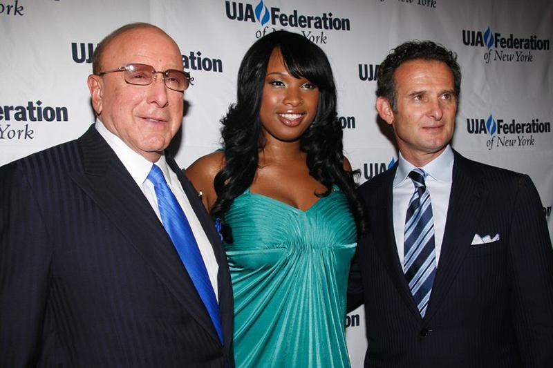 With Clive Davis & Jennifer Hudson