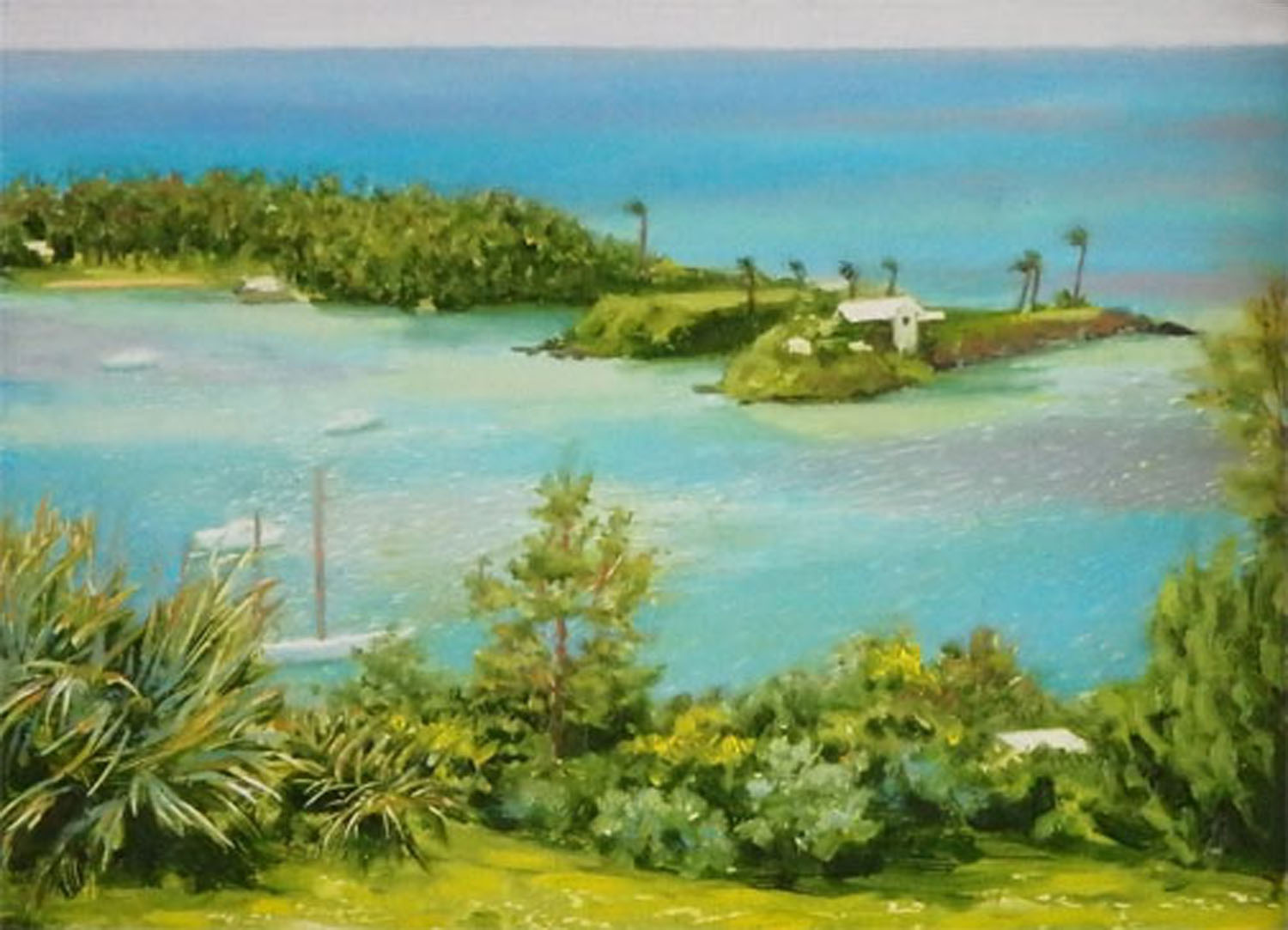 """""""View from the Scaur"""" Oil 5""""x 7"""""""