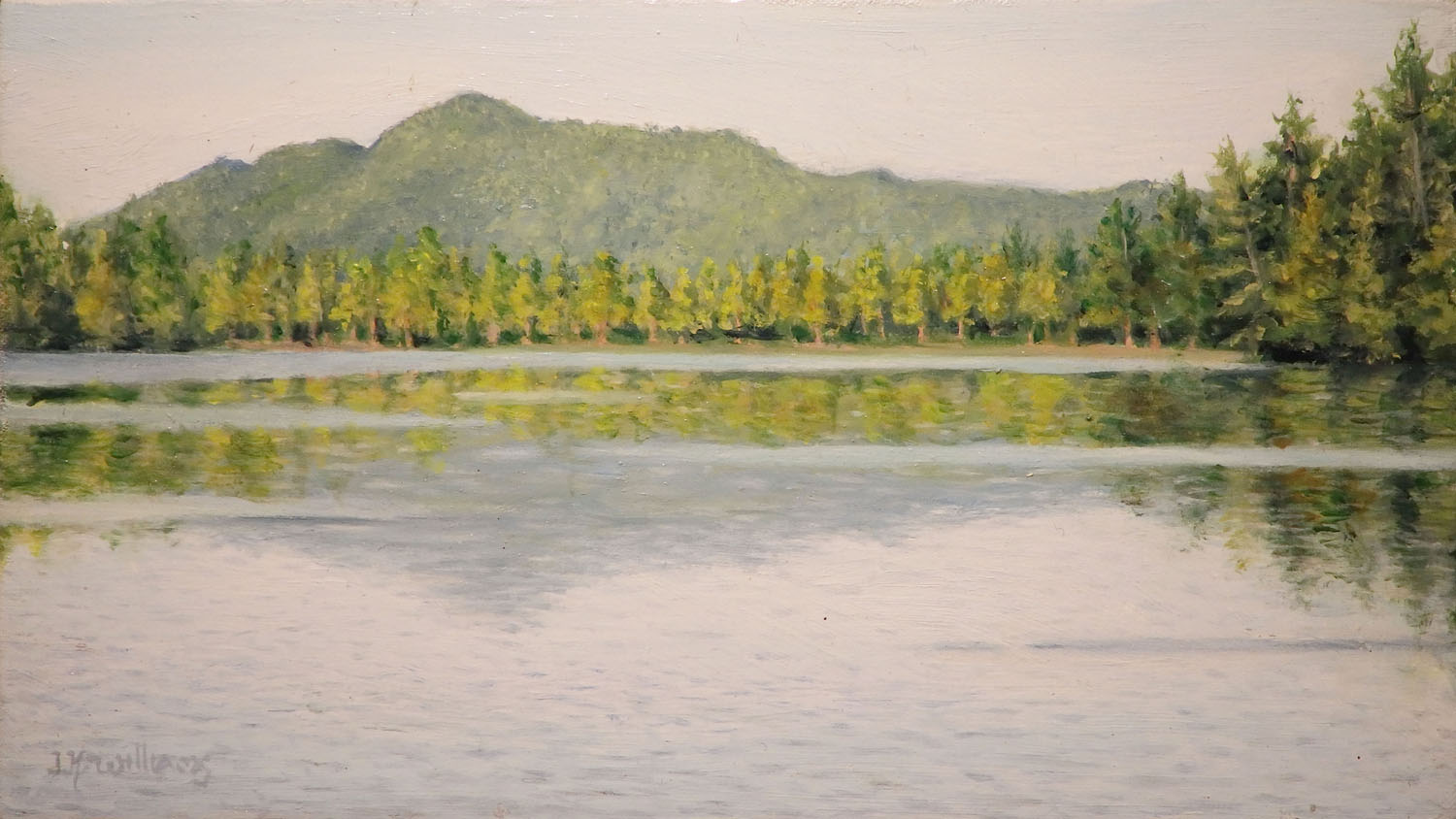 """Saint Regis Morning""    Oil 3 1/2"" x 6 1/2"""