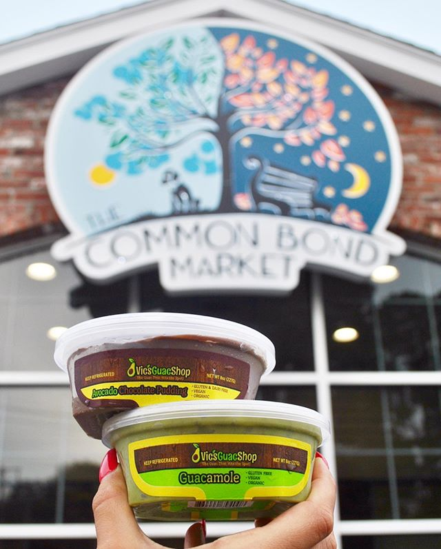 **ANNOUNCEMENT** We are so happy and excited to share great news with you all! Starting Monday 9/19 @thecommonbondmarket will be carrying our products! • • Head over to The Common Bond Market in Shelton to pick up all your favorite products from us! 40 Huntington street, Shelton • • If it wasn't for all our loyal customers we wouldn't be where we are today, so thank you for the continuous support! • • • #vicsguacshop #theguacthathitsthespot #vicsguaconanything  #thecommonbondmarket