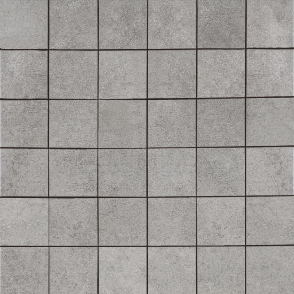 """Grey Mosaic 2"""" x 2"""""""