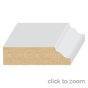 """Colonial Ogee Stop  1/2"""" x 1-3/4"""""""
