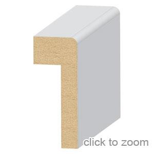 "Contemporary Panel Cap  1"" x 2-1/2"""