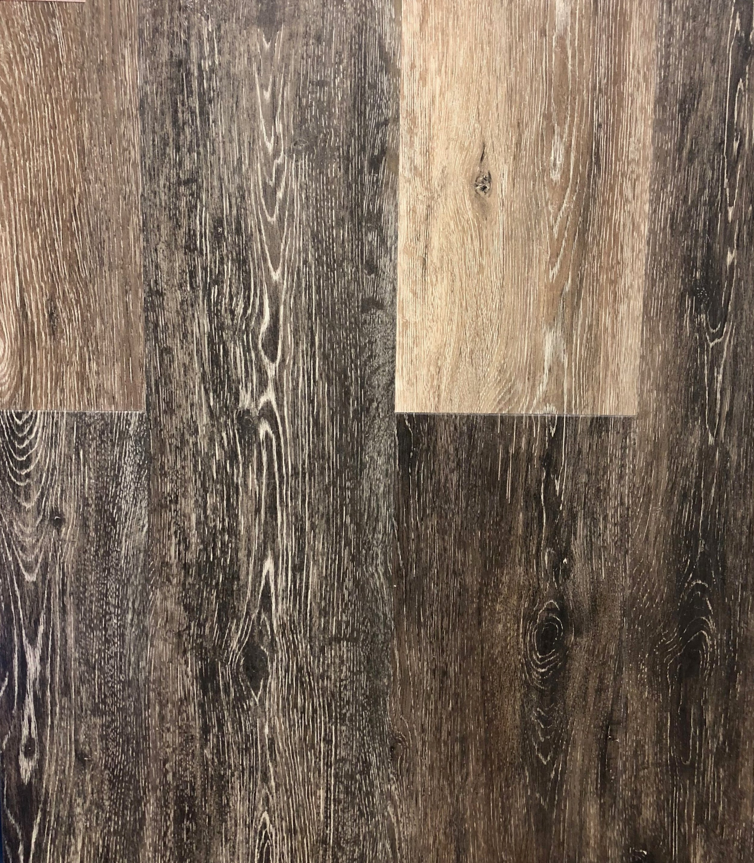 """CA Flooring - Ventura Grey  Thickness: 6.5mm  Width: 7""""  Length: 48"""""""