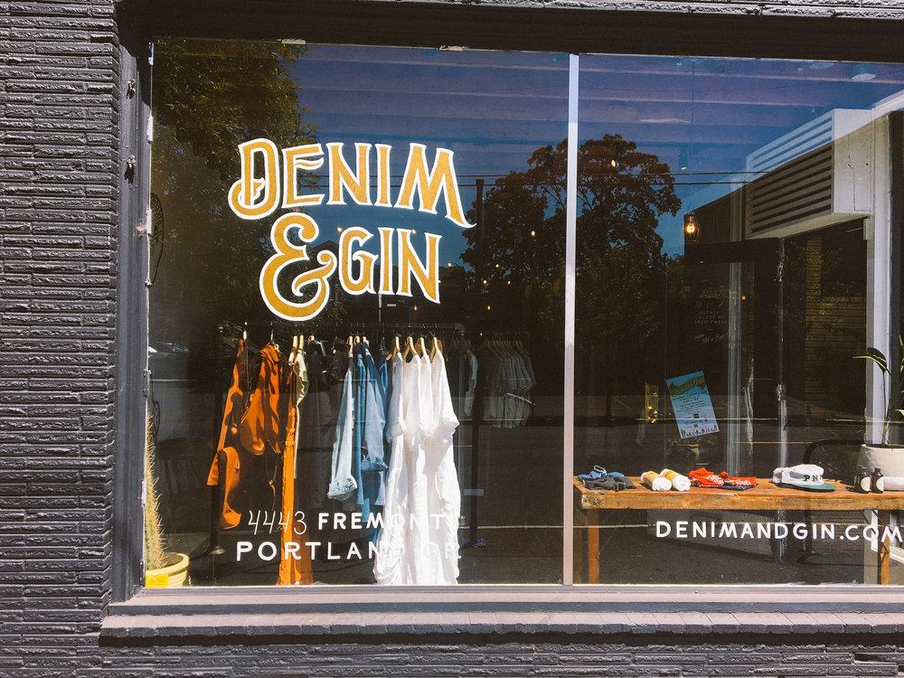 Denim and Gin - Portland OR