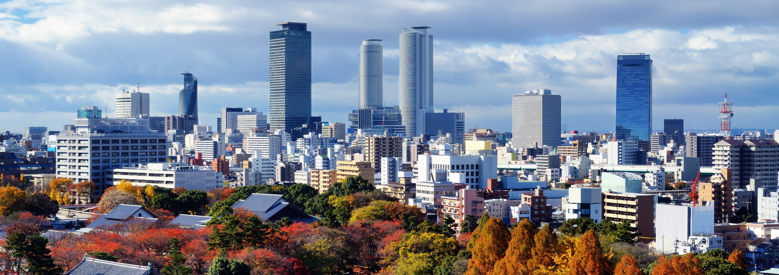 Nagoya, Japan The fourth largest city in the country and home to Hoyu HQ