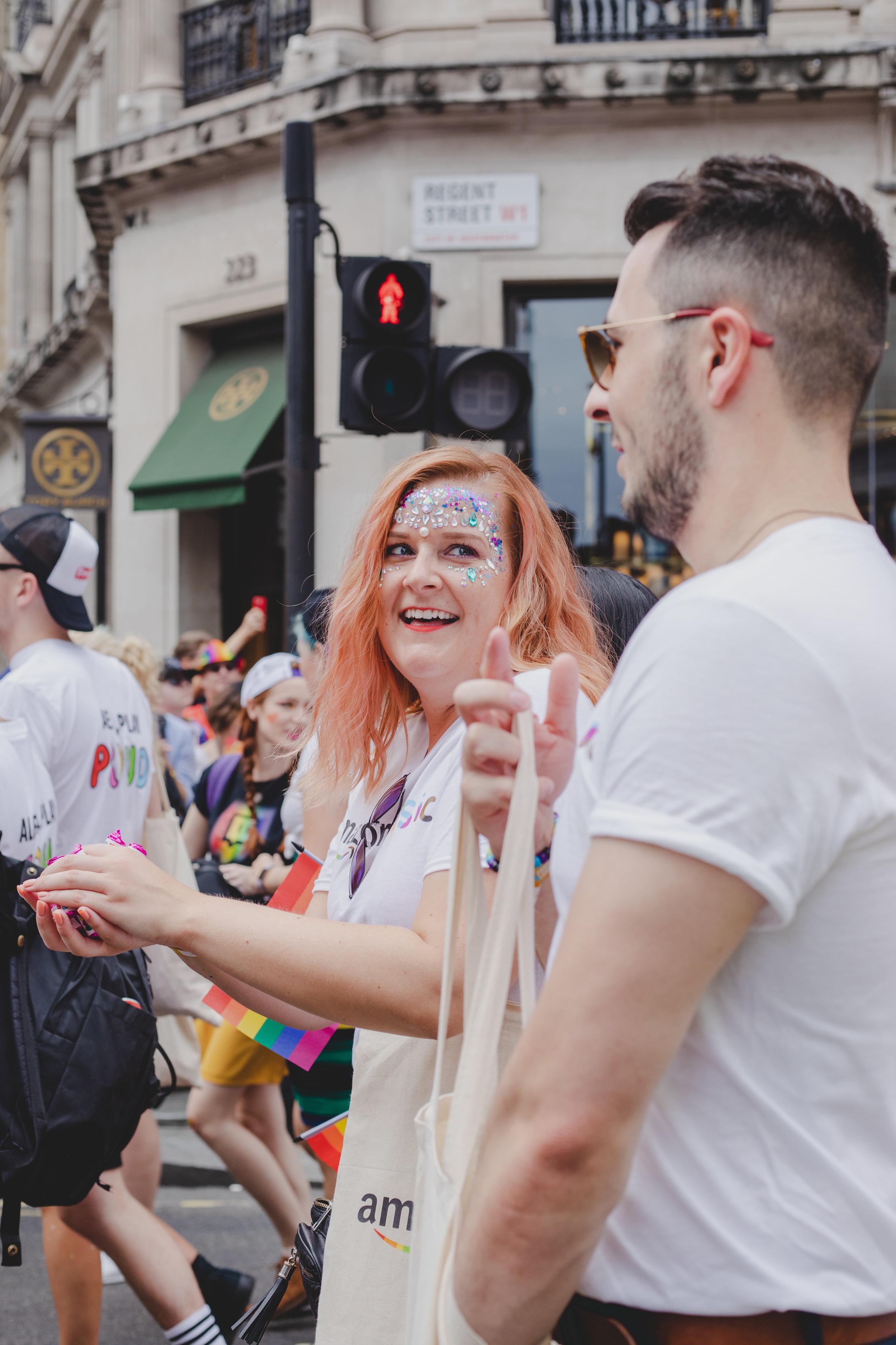 Pride in London 2019 - Amazon