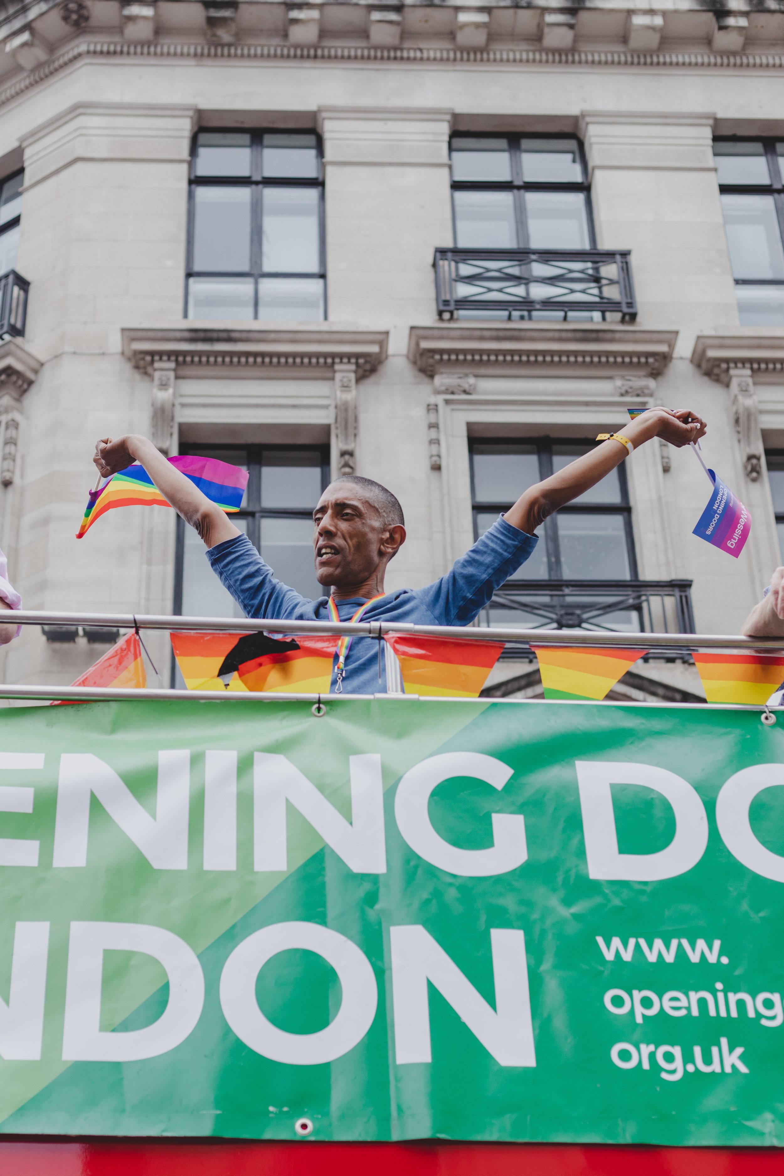 Pride in London 2019 - Opening Doors