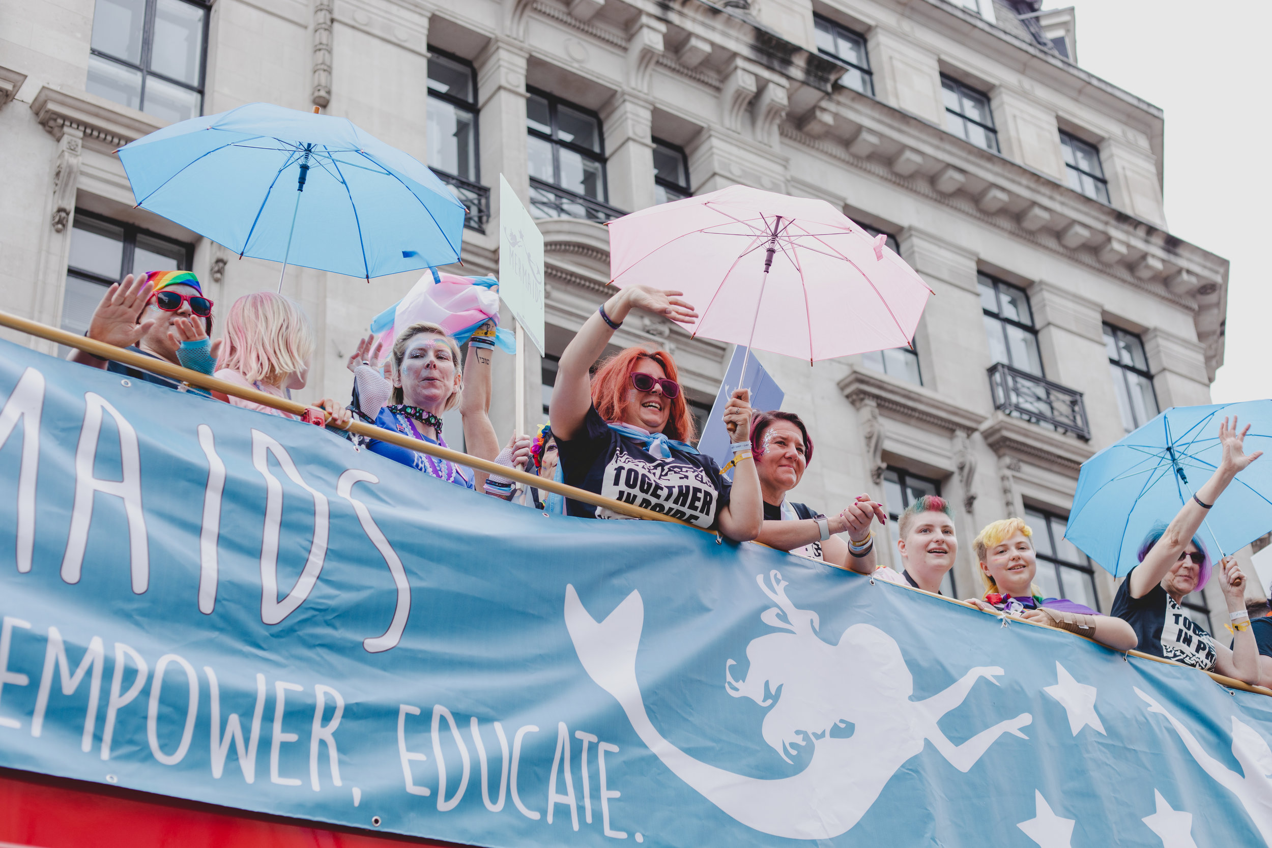 Pride in London 2019 - Mermaids