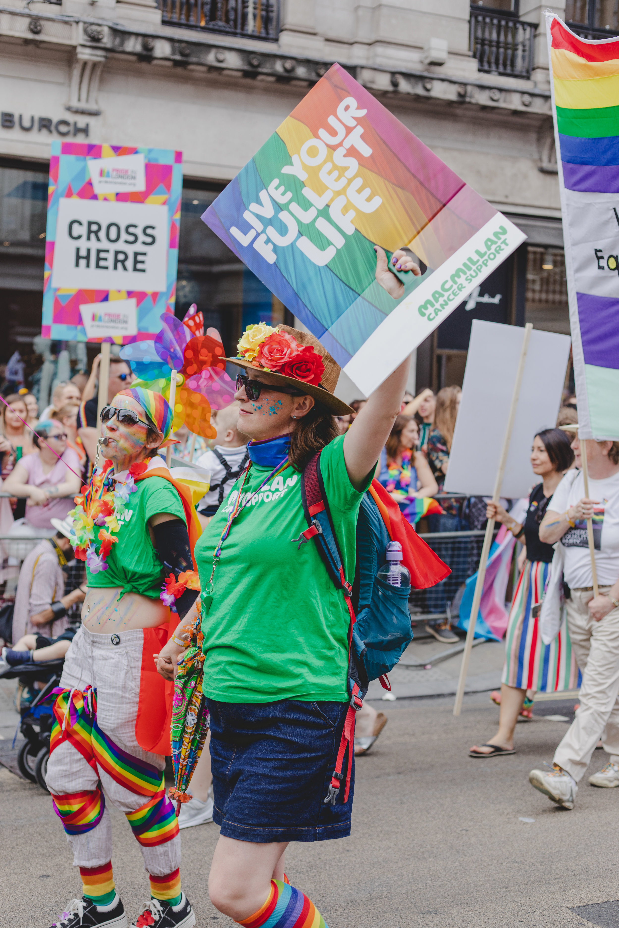 Pride in London 2019 - Macmillan Cancer Support
