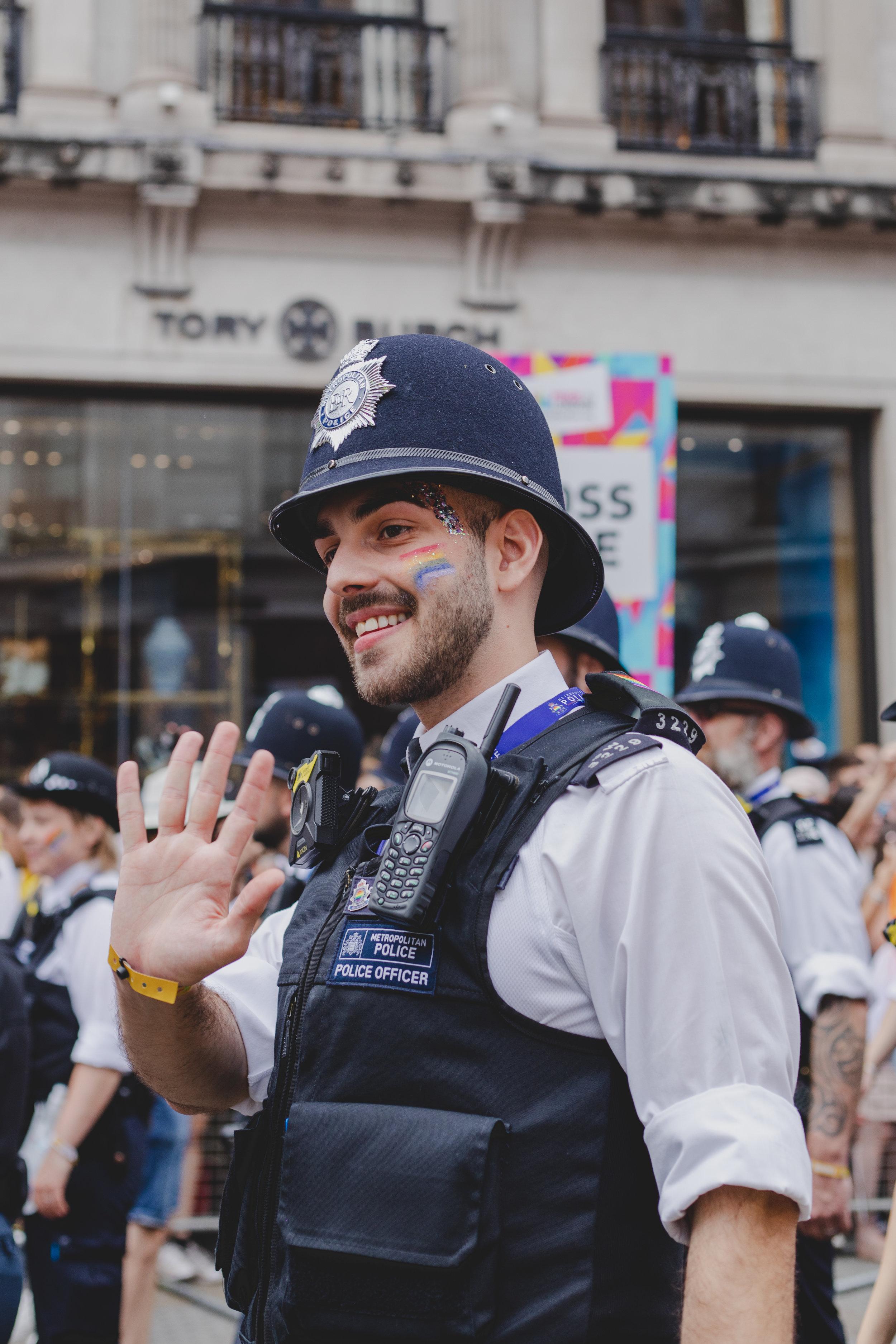 Pride in London 2019 - Metropolitan Police