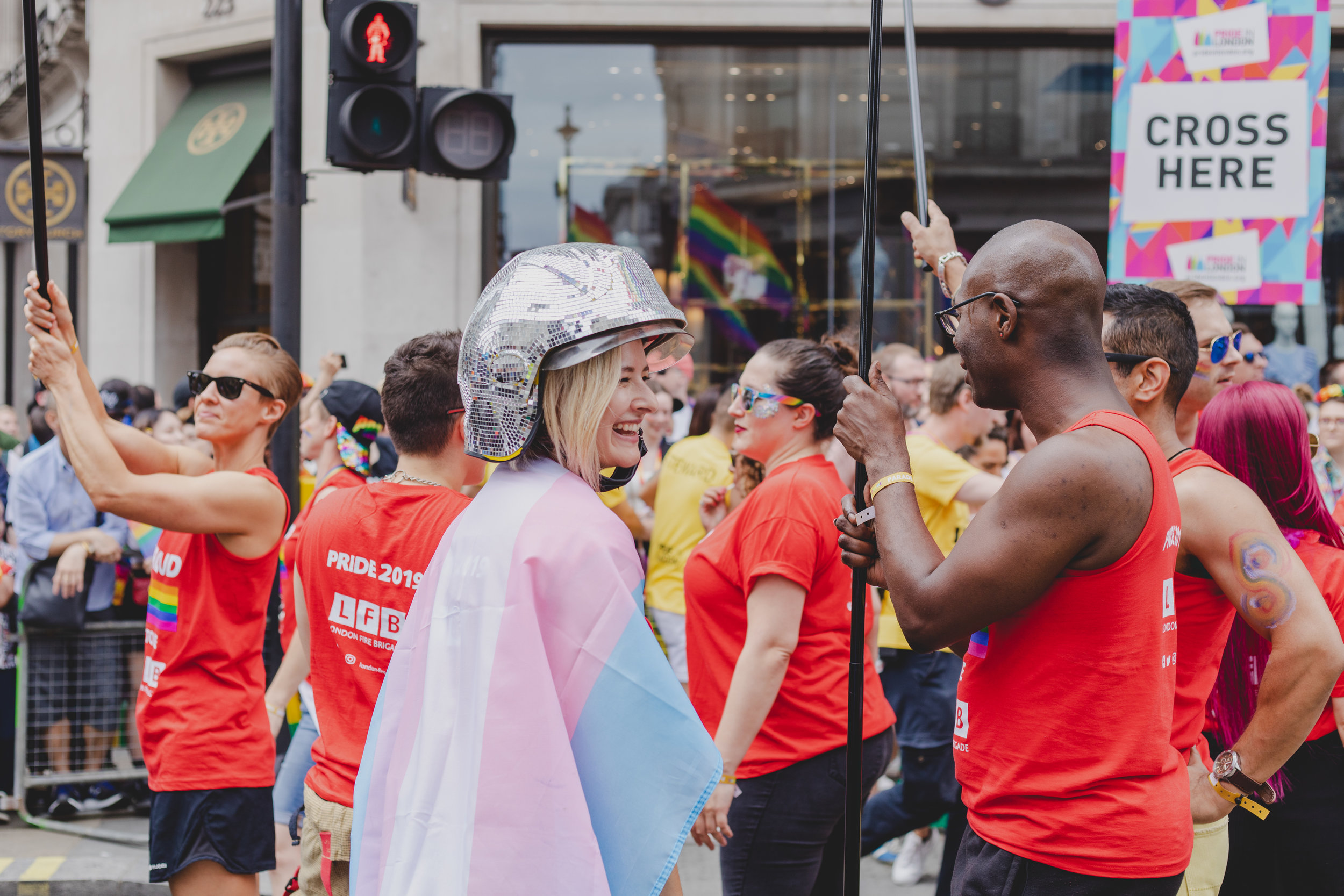 Pride in London 2019 - London Fire Brigade