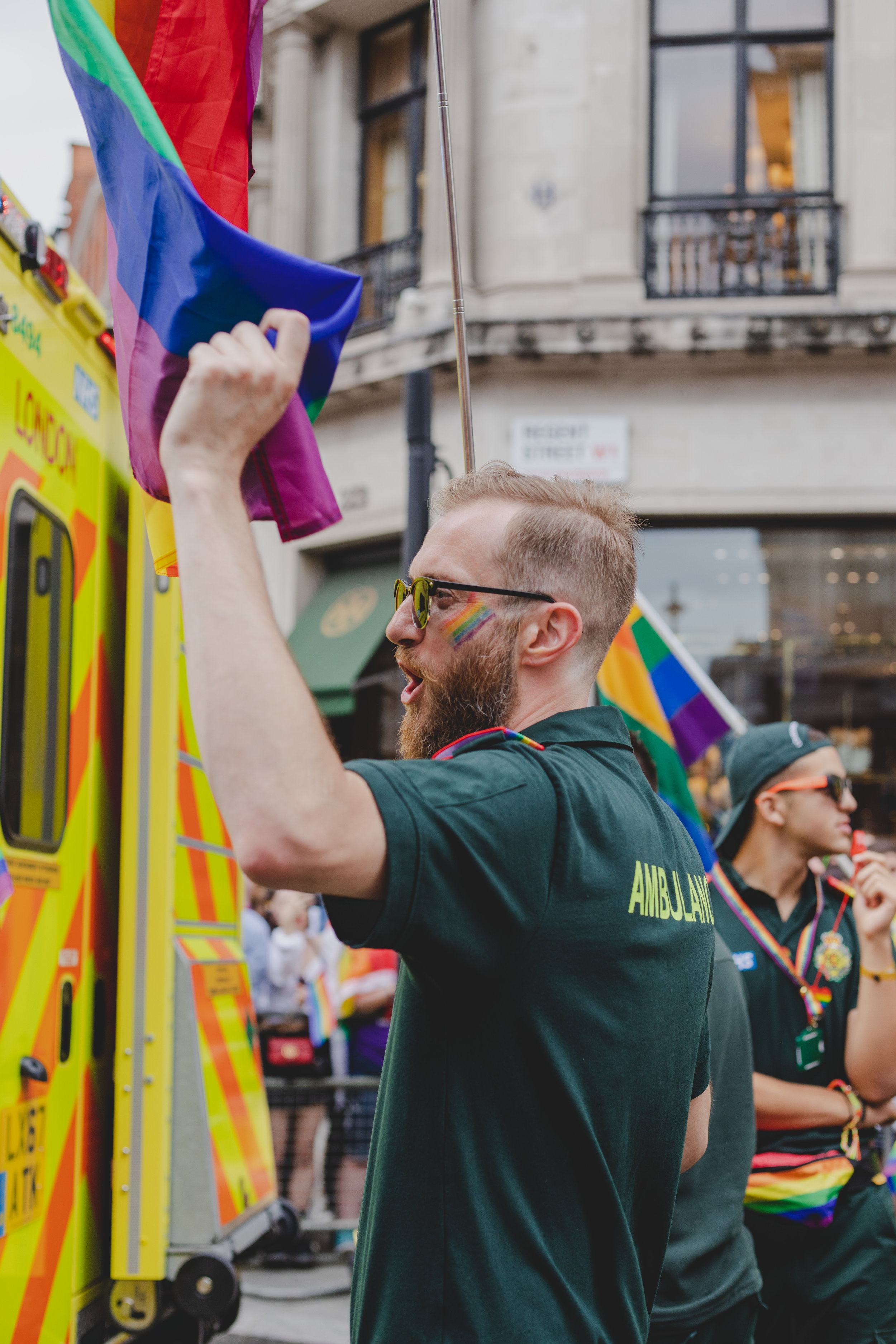 Pride in London 2019 - St John's Ambulance Service