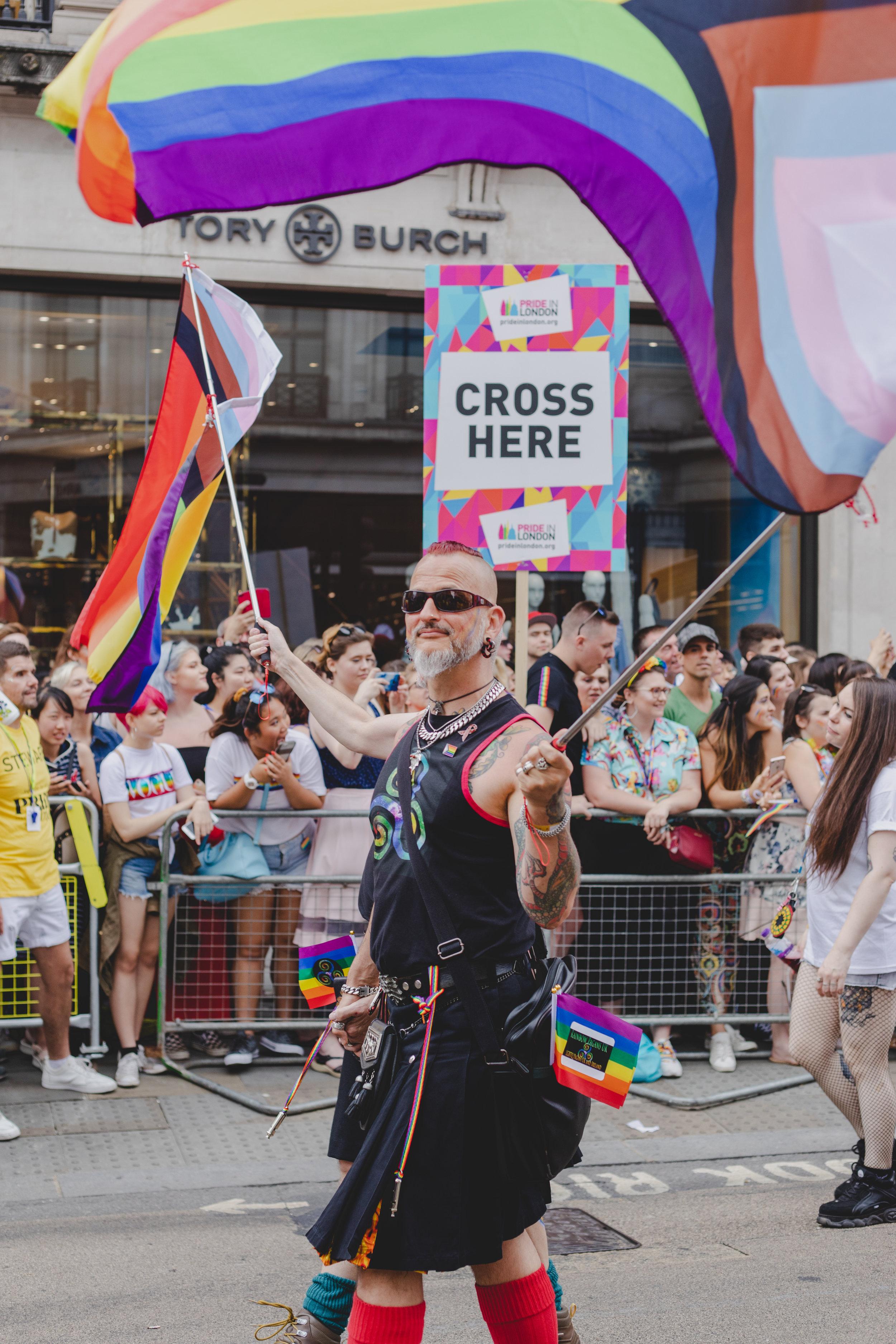 Pride in London 2019 - Rainbow Pagans