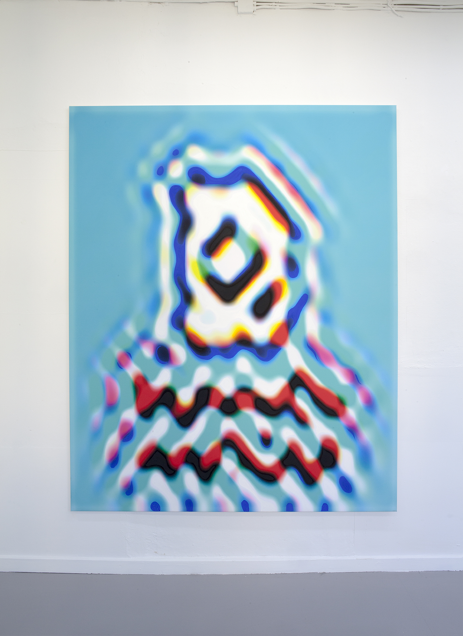 Improved Dummy, 145 x 180, inkjet print, pigment, kasein.