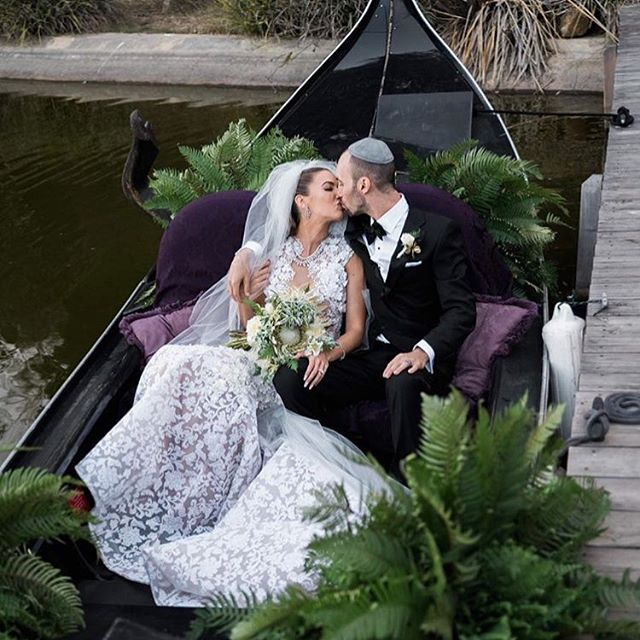 Following the ceremony the couple enjoyed a gondola ride on the estates private lake. Throughout the evening guest were welcomed to gondola rides.  #Repost @wifeoftheparty ・・・ It was a privilege and a delight to design and plan the wedding of @danfleyshman and @caseylovesfitness. Thank you to every person that placed countless hours into making this a success with me and our team. I love this shot of their first gondola ride as husband and wife caught by @edltphoto! #thewotp #wotpweddings #weddings #1111 #eleveneleven #michaelcostello #weddinginspo #brides #weddings