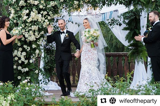 We Loved being apart of this stunning wedding at an exclusive estate in Beverly Hills!  #Repost @wifeoftheparty ・・・ A chuppah demonstrates covering and protection, and is symbolic to Dan and Casey beginning their new life together. Yesterday was magic!  Image: @edltphoto Floral: @shawnayamamoto Dress: @michaelcostello  #cakecutting #thewotp #1111 #eleveneleven #weddings #brides #michaelcostello #chuppah #beverlyhills #danfleyshman #theplannersagency #weddinginspo