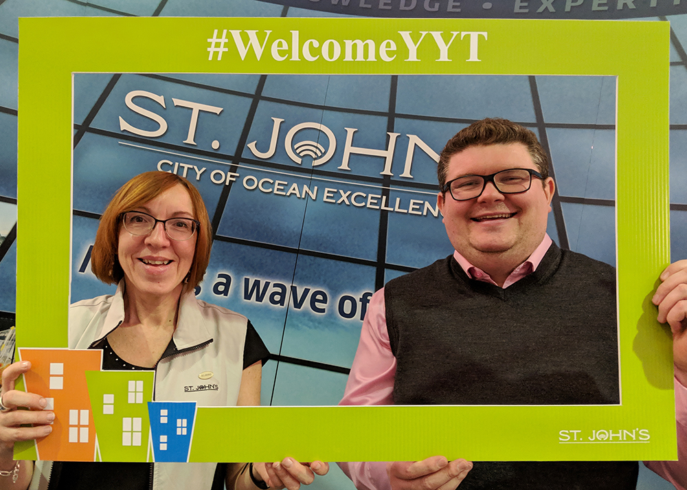 Wendy and Ross are just two of the knowledgeable and friendly staff that can help you at the  City of St. John's Welcome Centre .