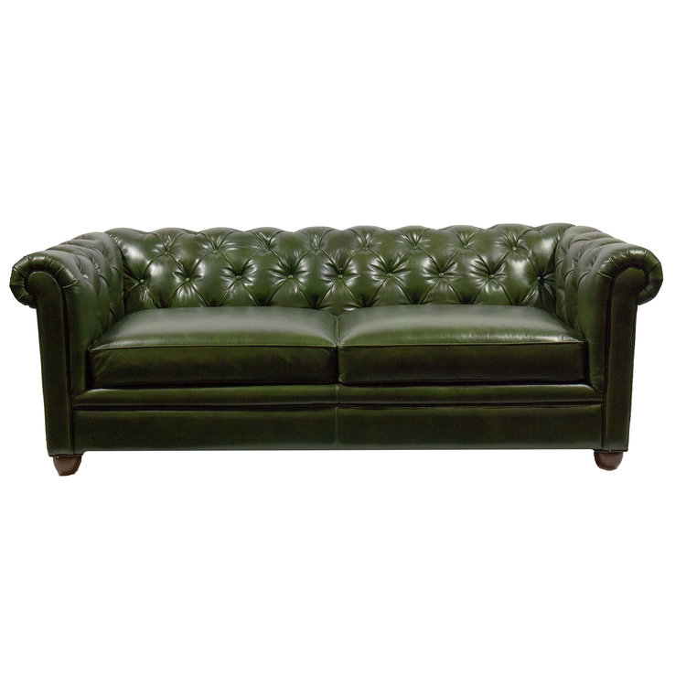 CHESTERFIELD SOFA - FOREST